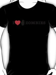 I <3 Zombies T-Shirt