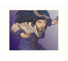 Hinata Hyuga Art Print