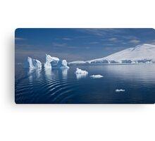 Simply Cyan (Gerlache Strait, Antarctica) Canvas Print