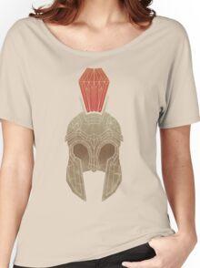 Geometric Trojan Helmet Women's Relaxed Fit T-Shirt