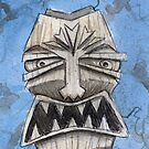 Tiki Face by Lee Twigger
