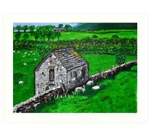 Derbyshire 2 Art Print
