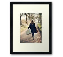 leaving Framed Print