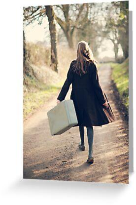 leaving by Catherine  Regan
