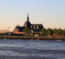 Old Historic Central Rail Road Terminal Jersey City NJ by pmarella