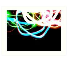 Tangled Light Art Print