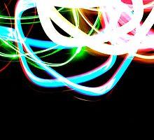 Tangled Light by Jason Dymock Photography