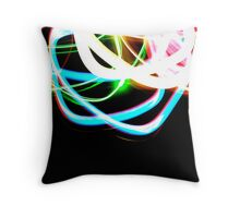 Tangled Light Throw Pillow