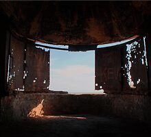 Looking Out - Langdon Searchlight by Dave Godden