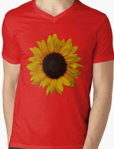 Beautiful Sun flower Mens V-Neck T-Shirt