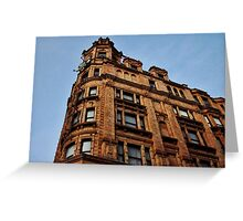 English Architecture Greeting Card