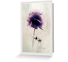 Precious Peony Greeting Card