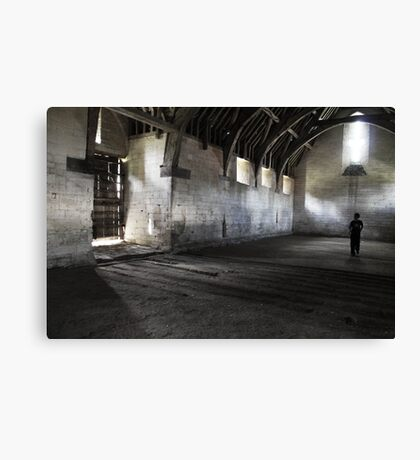 Dark and lonely  Canvas Print