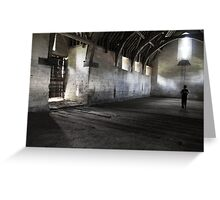 Dark and lonely  Greeting Card