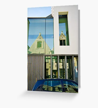 Bruges Reflections Greeting Card