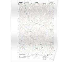USGS Topo Map Oregon Vinemaple 20110907 TM Poster