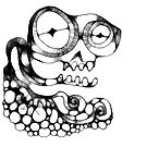 Skull by GODofNEON