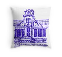 Architecture on Stanmore Avenue, Trinidad Throw Pillow