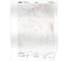 USGS Topo Map Oregon Cow Valley West 20110831 TM Poster