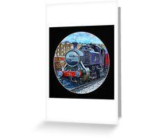 London Engine Greeting Card