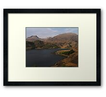 Loch Hourn Guesthouse Framed Print