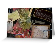 Blessed Greeting Card
