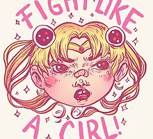 Fight like a girl by gatonegro