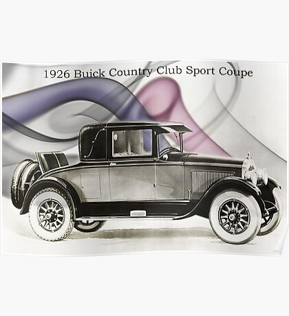 1926 Buick Sports Coupe Poster