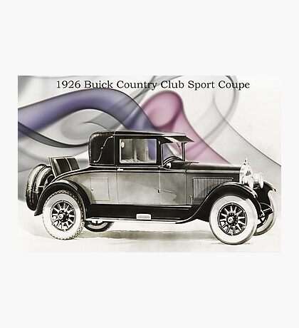 1926 Buick Sports Coupe Photographic Print