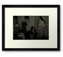 There but for fortune. Framed Print