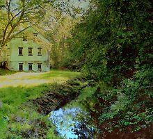 Serene Summer Landscape by fiat777