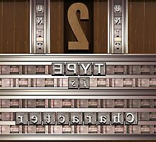 Movable Type Printing Press by Susan Sowers