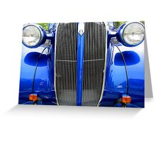 1937 Plymouth Coupe Greeting Card