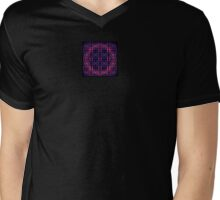 Mosaic In The Round Mens V-Neck T-Shirt
