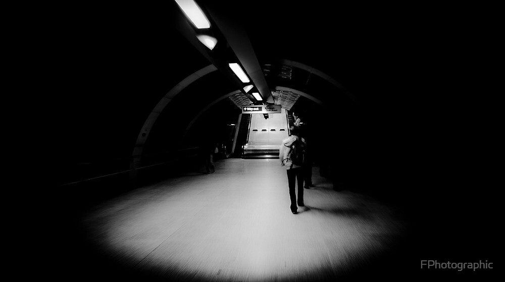 In Amongst the Darkness, Remains a Way Out by FPhotographic