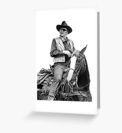 John Wayne as Rooster Cogburn Greeting Card