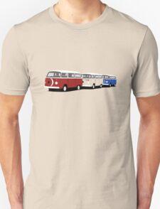 Volkswagen Campervan T2 Group Unisex T-Shirt