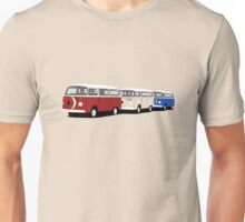 Volkswagen Campervan T2 Group Unisex T-Shirt
