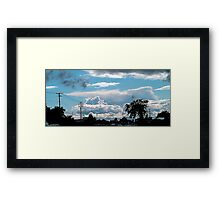 """The Uncommon sky"" Framed Print"
