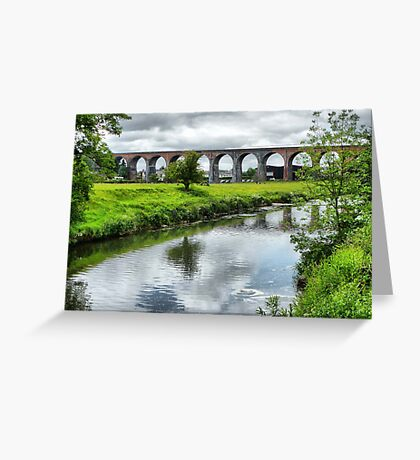 Whalley Viaduct. Greeting Card
