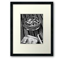 Thanks for Smoking Framed Print
