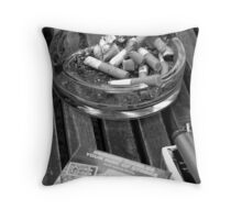 Thanks for Smoking Throw Pillow