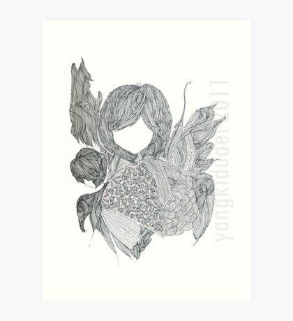Drawing Day 2011 Art Print