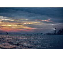 the guiding lighthouse Photographic Print