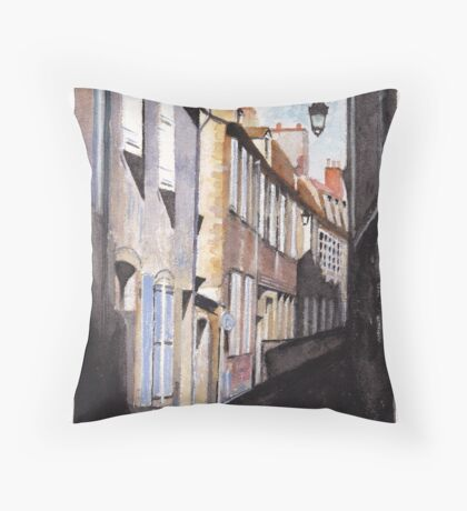 Moulins Allee Throw Pillow