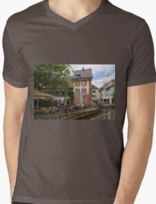 Freiburg Mens V-Neck T-Shirt