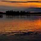 Muskoka Sunset by SamTheCowdog