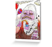 The Lamest Yeti Birthday Party Ever Greeting Card