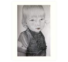 Mama's  little gorgeous girl Art Print