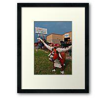 Introducing Austin Furniture Depot  Framed Print